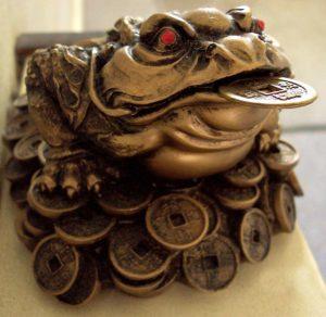 Mituri Feng Shui - broasca bogatiei