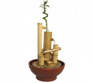 Fantana cu bambus