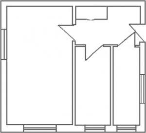 Feng Shui si prosperitatea - plan apartament