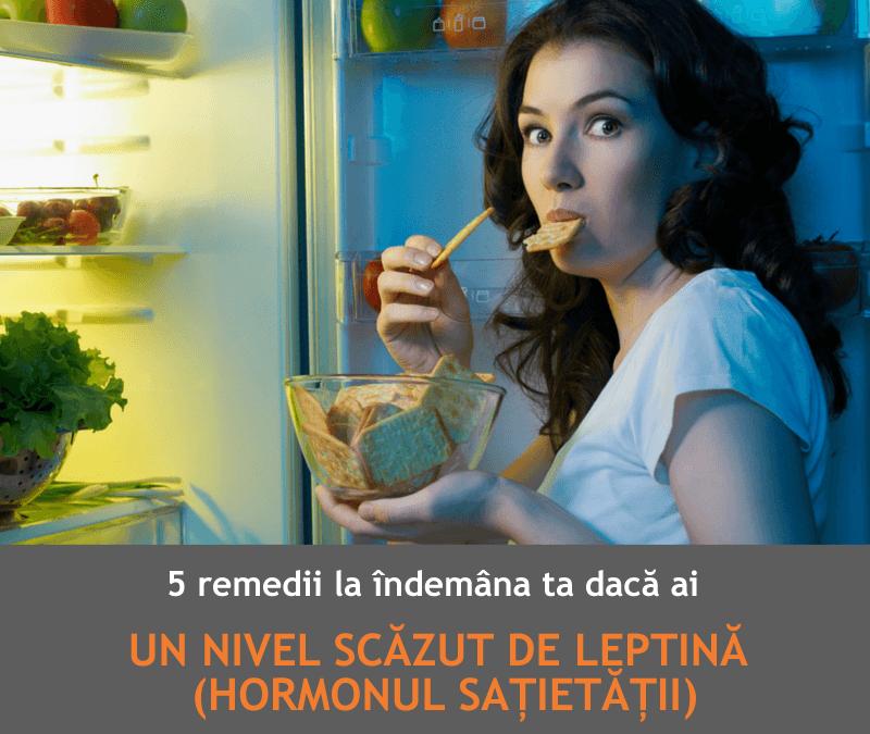 5 remedii la îndemâna ta să-ți crești nivelul leptinei (hormonul sațietății)