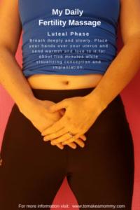 Automasaj fertilitate faza luteala