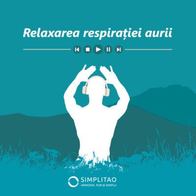 Meditatie ghidata online - Relaxarea respiratiei aurii
